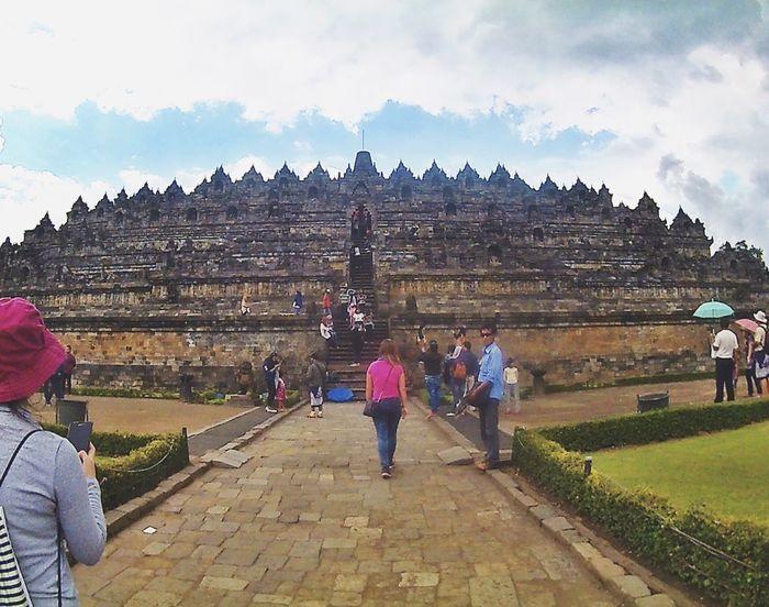 History Architecture Yogjakarta Awesome Borobudur Temple Indonesia Scenery