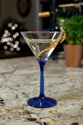 A vodka martini