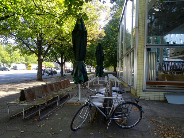 Berlin September 2016 Architecture Bicycle Built Structure Capture Berlin City Karl Marx Allee No People Outdoors Soviet Era