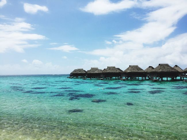 Sea Beach Moorea Tahiti