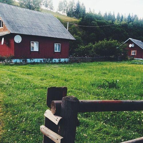 Домівки Vscocam карпати закарпаття дім home славське славсько