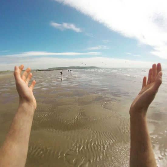 Testing out the @gopro head mount! A round of applause for the results 🌅📷 Sunny Beach Sea Sky Headmount Summer Sun Landscape Borth Wales Walk Goprohero Gopro Goprooftheday Photooftheday Instagramers Instalike Instagood Instadaily Instamood Likes Instafollow Likes4likes Follow4follow Followme likeforlike follow kodak_photo theboss_photos