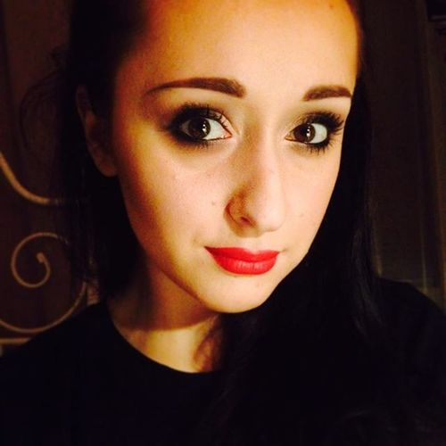 Mac RubyWoo Polishgirl Makeup Myartistcommunity Wizażystka Panigosiamaluje Girl Redlips Instamakeup Makijaz Usta Eyes Eyeshadow Maccosmetics