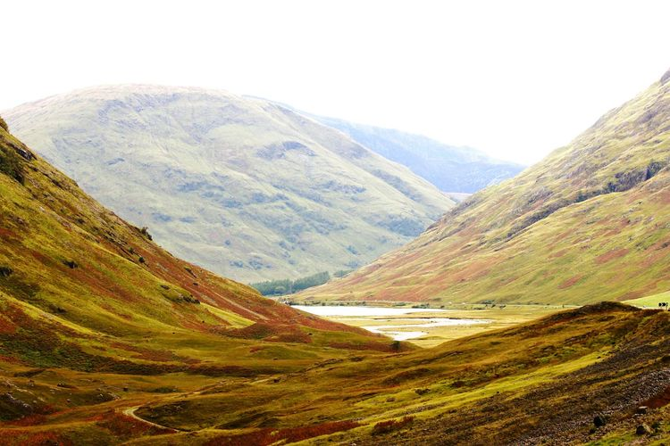 Glencoe Scotland. Starting a trek in the highlands. Mountain Landscape Mountain Range Nature Scenics Rural Scene Cloud - Sky No People Outdoors Day Scotland Beauty In Nature Tranquil Scene Heaven Physical Geography Tranquility The Great Outdoors - 2017 EyeEm Awards
