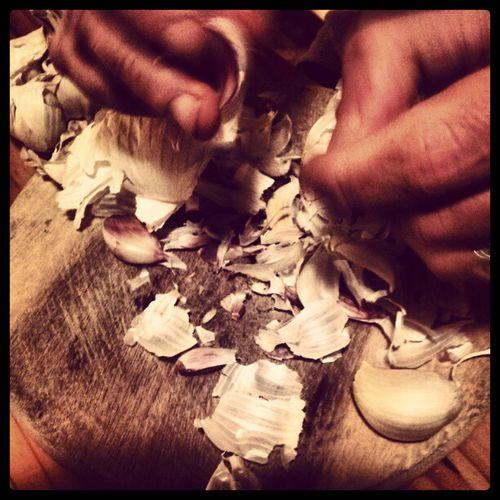 Garlic Hands