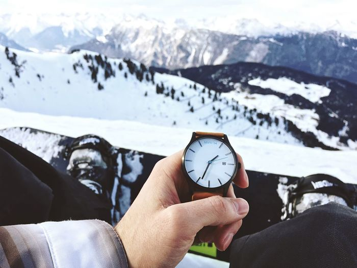 Time to dash the snow Winter Mountains Snowboarding Snow Good Times Sport Watch