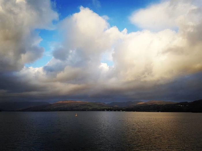 Windermere First Eyeem Photo Nature Lakedistrict Waterscape Sky And Clouds