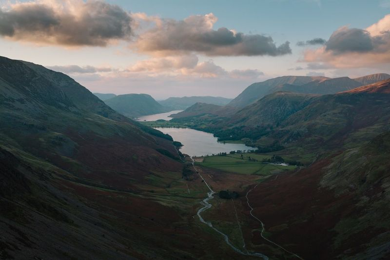 This was a sunset shot on top of haystacks fell in the Lake District. It was my first time wild camping and it was definitely a unique experience, being completely alone on top of a small mountain can offer a certain clarity to life. Miles Away Landscape Mountain Nature Beauty In Nature Vscocam EyeEm Nature Lover EyeEm Best Shots Eye4photography