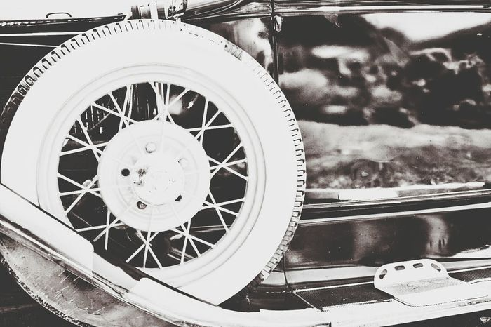 Classic Car Model A Spare Vintage Retro Car Antique Spoked Wheels Whitewall Darryn Doyle Check This Out Taking Photos Enjoying Life Vintage Style Capture The Moment Roadsterlife Vintage Technology Part Of Car Porn Car Show Restoration