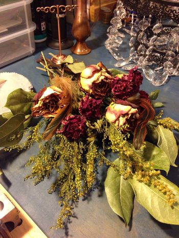 Naturaleza Muerta Flowers Dried Flowers Work Table February 2016 Nature Iphonephotography California