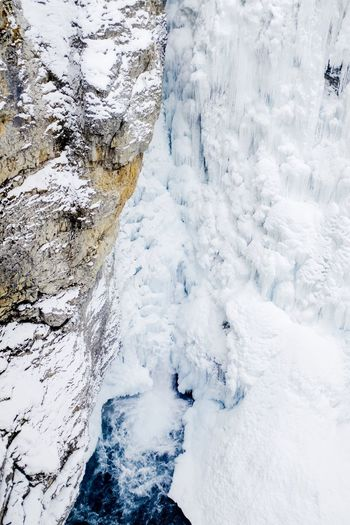 Canada Cold Temperature Nature White Color Snow Tranquility Winter No People Beauty In Nature High Angle View Tranquil Scene Ice Day Outdoors Frozen Scenics Water