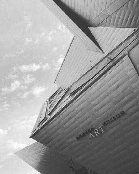 Denver Art Museum Built Structure Architecture Denver Colorado