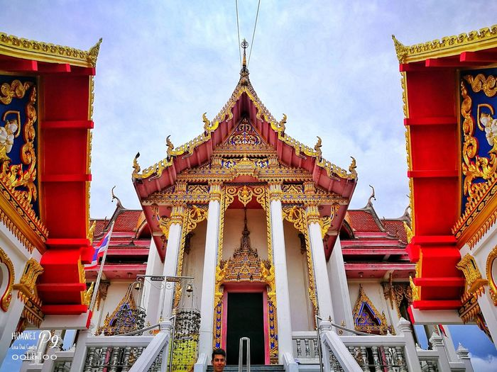 วัดชัยมงคล P9 Oo Leica LikhiT55 Huawei_P9 ๐๐LikhiT๐๐ King - Royal Person Gold Beauty Place Of Worship Gold Colored Religion Royalty History Ancient Arts Culture And Entertainment