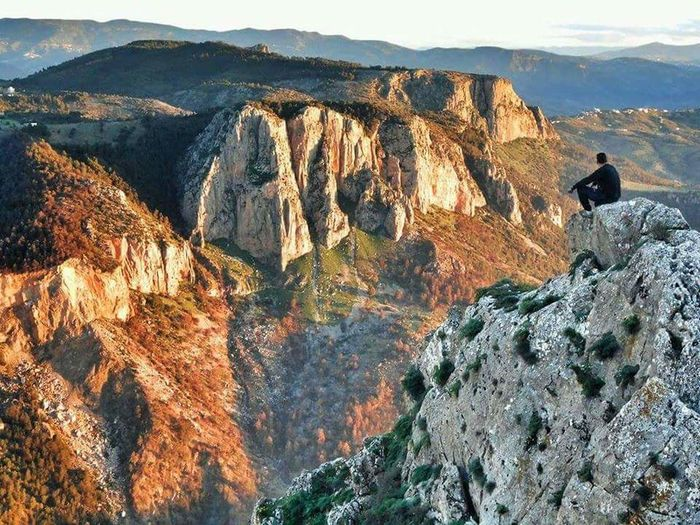 Mountain Climbing Adventure Cliff Hiking Rock - Object Sky Landscape Mountain Range