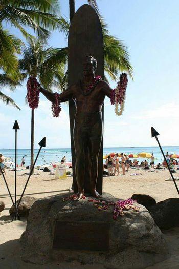 Duke Kahanamoku WaikikiBeach Surf