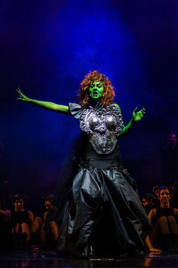Mia figlia Paola, la strega dell'ovest nel il mago di Oz
