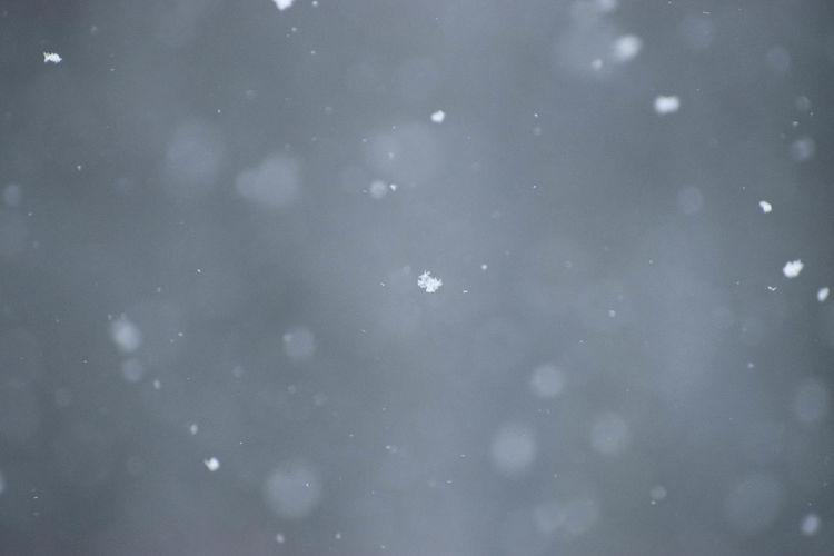Full frame shot of wet glass during winter