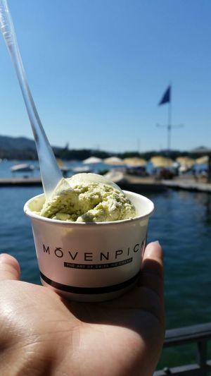Zurich, Switzerland Moevenpick Enjoying Life Ice Cream