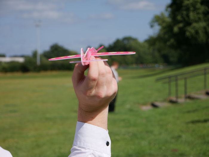 Aeroplane Close Up England Outside Paper Planes Plane Summertime Throwing