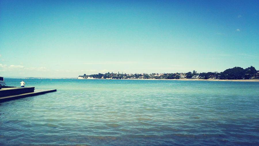 3月のNZ語学研修のときの。ビーチの写真。タカプナかな?ホストファミリー、スクールバディ、、みんな元気かな?いつか会いに行きます。 NZ Beach First Eyeem Photo