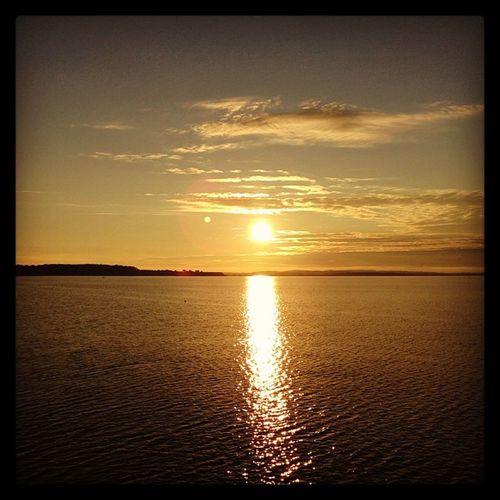 Ostsee Sonnenuntergang WeissenhäuserStrand Dasistschön Gutenmorgen IPhone5 Instagramfilter Wieromantisch