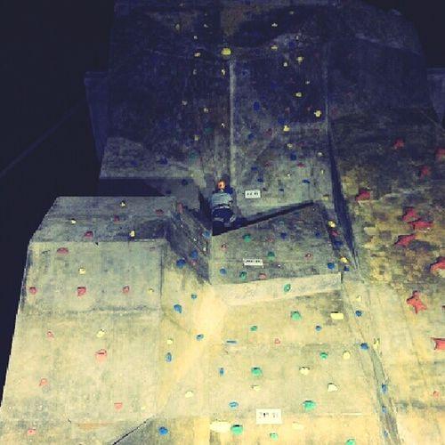 Night Bouldern.<3 Wall Climbing