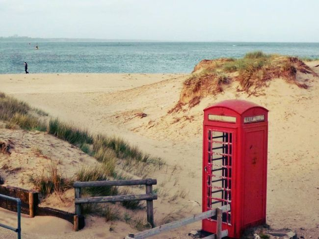 Waiting for a call Beach Landscape Photography England Beach Photography Telephone Box EyeEm Gallery Countryside Landscape EyeEmbestshots EyeEm Best Shots Landscapes With WhiteWall