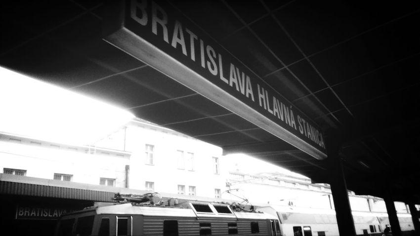 Bratislava Blava Railwaystation Only
