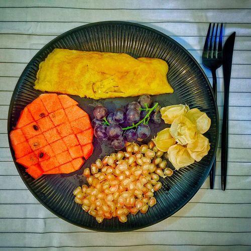 """【❤️】""""远离是讨厌还是过于喜欢"""" 春子私房菜 一个人生活 手机摄影 美食 早餐"""