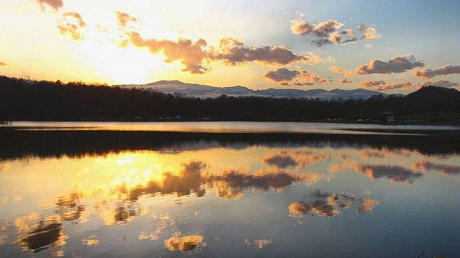 Sunset Lake Seghaleksar