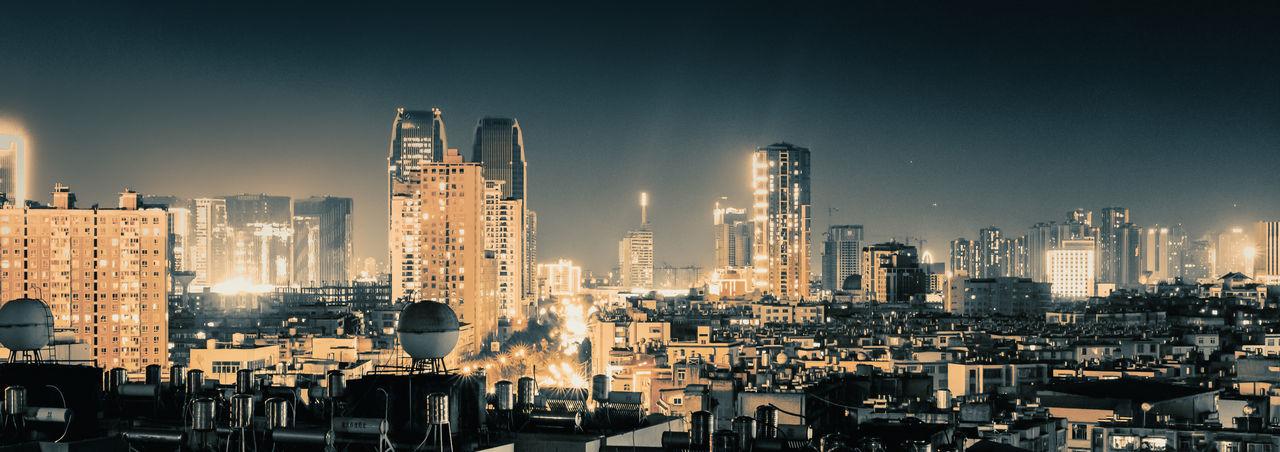 Building Exterior City Architecture Cityscape Landscape Night Urban Skyline