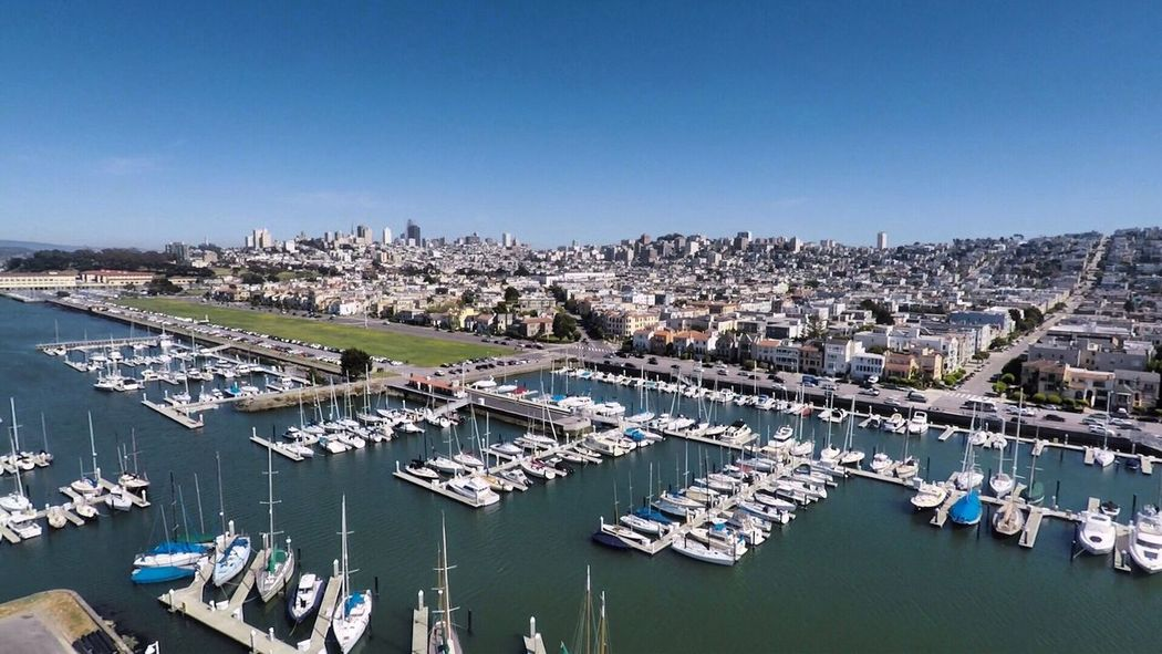 The Marina and Saint Francis Yacht Club #gopro #goprokarma