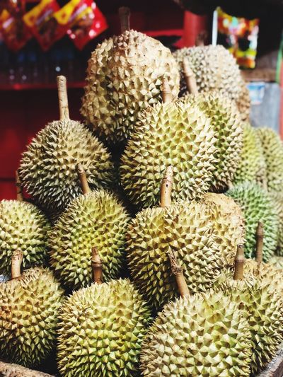 King of Fruits Fruit King Of Fruit Davao Durian Thorn Spiked No People Plant Close-up EyeEmNewHere EyeEmNewHere