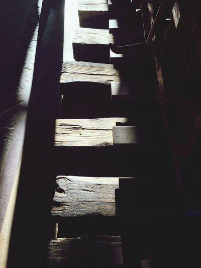 Railroad Railroad Ties Light And Shadow
