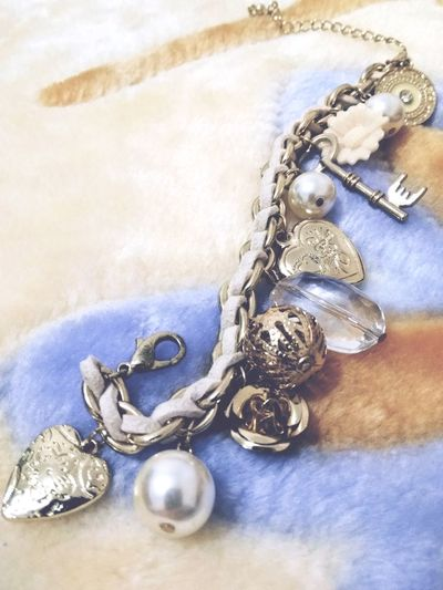 Bracelet Charm Bracelet Close-up Item Textured  No People Indoors  Object Lifestyles