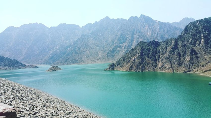 Pure beauty Serenity Hatta Dubai Mountain The Great Outdoors - 2017 EyeEm Awards Water Clear Sky Clear Thoughts Tranquility Meditation Relaxing Appreciate Nature Sea Mountain