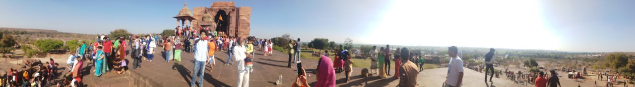EyeEm Selects Bhojpur_temple Hindu Culture Panoramic Sunlight Outdoors Day Spirituality