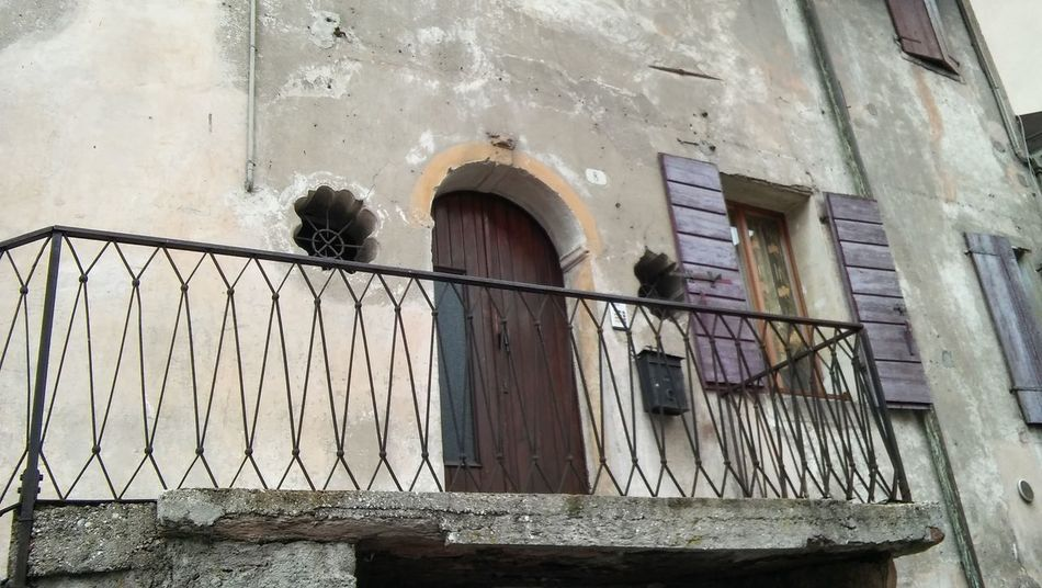Balcone in Feltre Architectural Detail