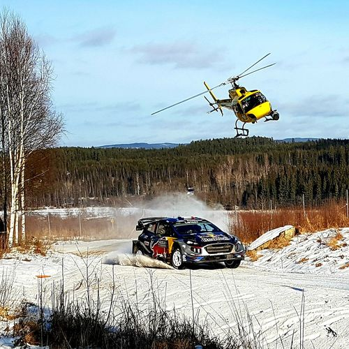 Rally Rallysweden Wrc 2017 Swedish Winter Helicopter Car Rallycar Torsby Sunny Day Samsung Galaxy S7 Check This Out Rally Car Rally Sweden