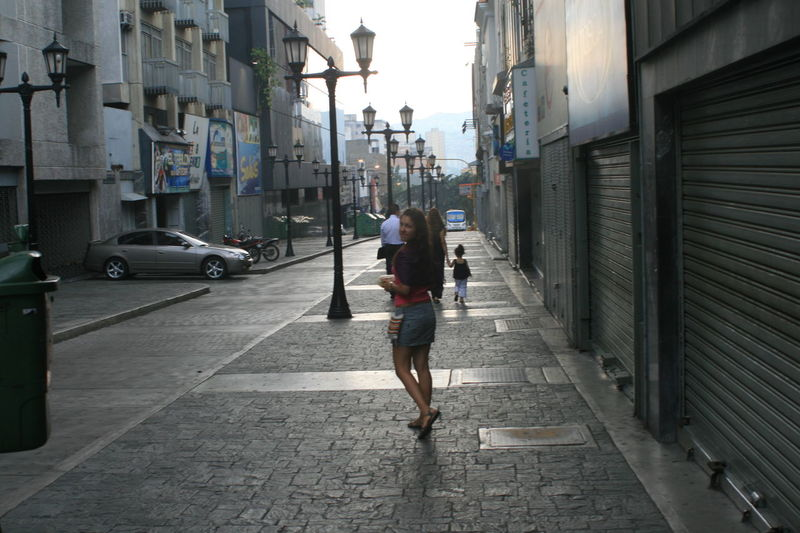 Architecture Building Exterior Caracas Caracas City Casual Clothing City City Life Road Sidewalk Sightseeing Street The Way Forward Tourist Traveling Travelling Venezuela Walking Young Women