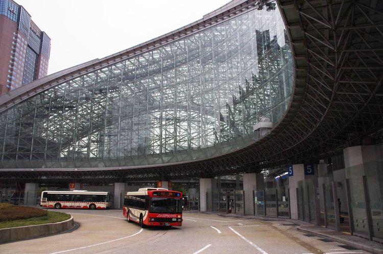 Bus Ride Bus Station Funky Town  Japan Kanazawa Modern Architecture Ride Travel Photography