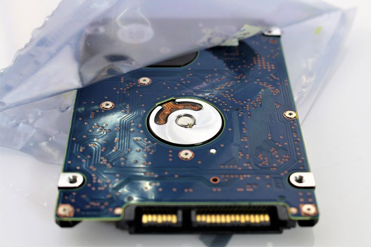 An Image of hard drive - disk Driver Hard Industry Plastic Bag Technik  Close-up Computer Data Digital Disk Drive Equipment Harddrive Plastic Technology