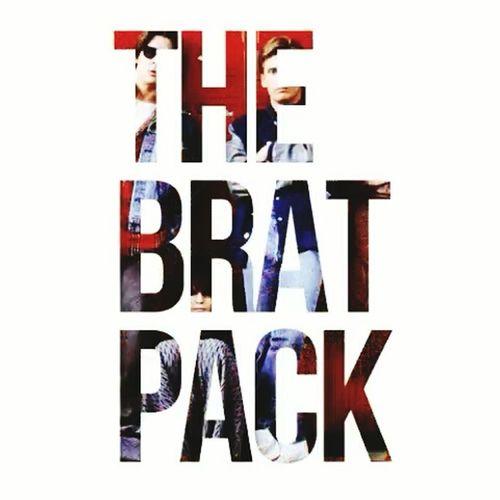 Brat pack. 1985 1980s The Breakfast Club