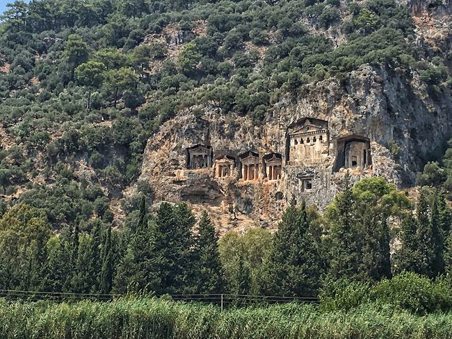 Rock Tombs Lycian Tomb Check This Out Taking Photos Boat Trip Worldbestgram Eyemphotography Traveller EyeEm Gallery Travel Destinations Travel Photography Travelingtheworld  EyeEmBestPics Hello World Traveling Taking Photos Exploring