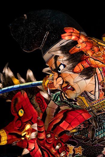 Festival TSUKUBA Japan Photography Lantern Red Aomori Festival Gob Ibaraki Multi Colored Nebuta Night Traditional Tsukuba
