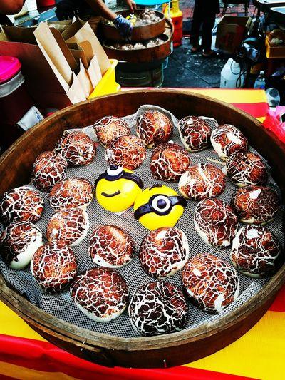 Cracking Dumplings Dumplings Guess What ...? Cartoon Effect  Food♡ Night Market