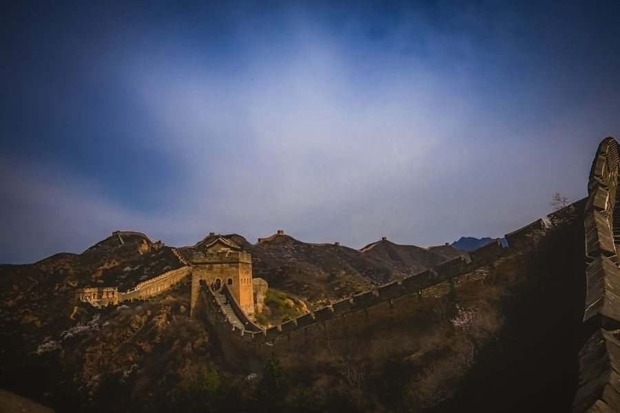 Architecture Beauty In Nature Built Structure China China Beauty China View Chinese Culture Chinese History Great Wall Great Wall Of China Historical Monuments History History Through The Lens  Landscape Landscape_Collection Mountain Nature Outdoors Scenics Tranquility Travel Destinations