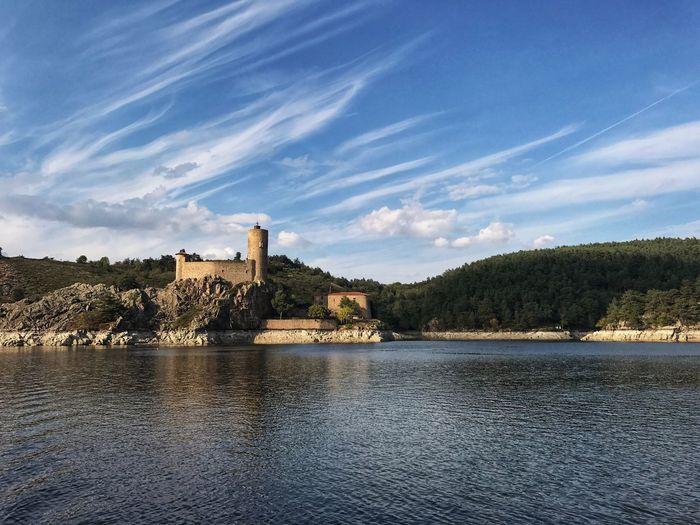 Chateau De Grangent Grangent Castle Loire River Loire River