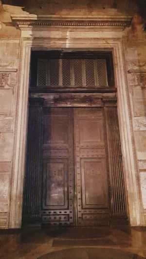 The Door to the Pantheon Temple