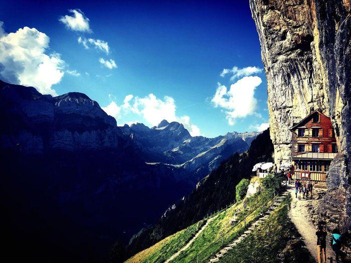 Your Ticket To Europe Switzerland Äscher Berggasthaus Äscher Mountains Inn Your Ticket To Europe